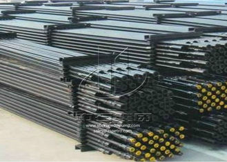 Steel Oil Sucker Rod Customized Length Steel Grade C D K HY KD OEM Service