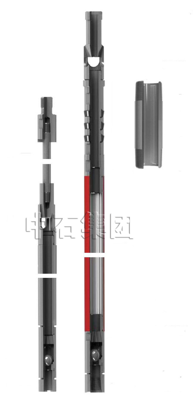 Simple Operation Oilfield Sucker Rods Pump With Thin Wall Barrel 0